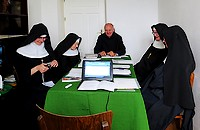 Zebranie przeorysz Polskiej Federacji Benedyktynek Sakramentek