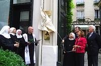 Odsłonięcie tablicy pamiątkowej przy ul. Cassette w Paryżu