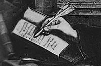 M. Mechtylda pisząca