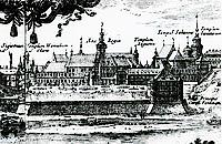 Zamek Królewski w Warszawie XVIIw.