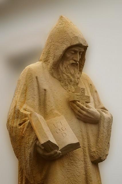 Św. Benedykt, patron Europy, patriarcha mnichów Zachodu