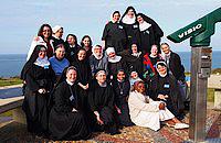 Spotkanie młodych benedyktynek w Bayeux