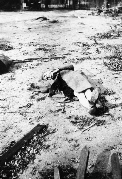 Ofiary bombardowania