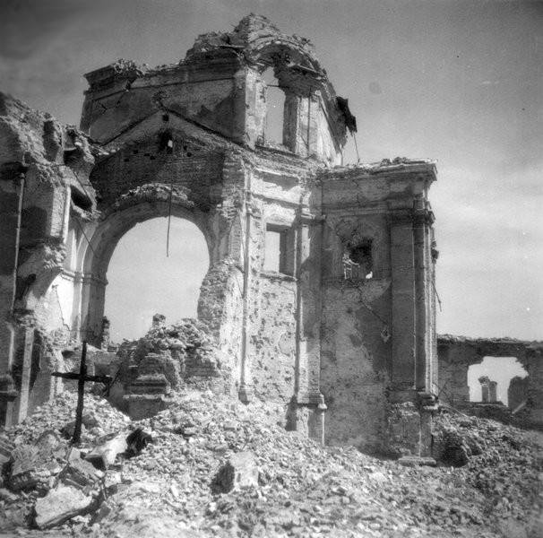 Ruiny kościoła Sakramentek
