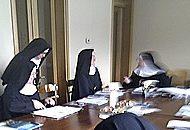 Spotkanie mistrzyń nowicjatów naszego Instytutu w Ghiffa