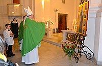 Msza św. pod przewodnictwem Ks. Bp. Michała Janochy