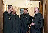 Wizyta Ojca Przeora i Braci z klasztoru w Silverstream w Irlandii