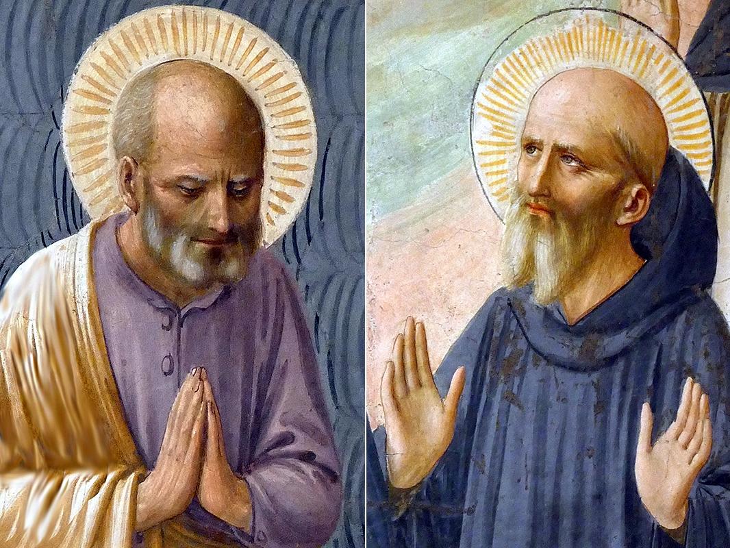 św. Józef i św. Benedykt