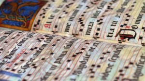Gregorian chant course